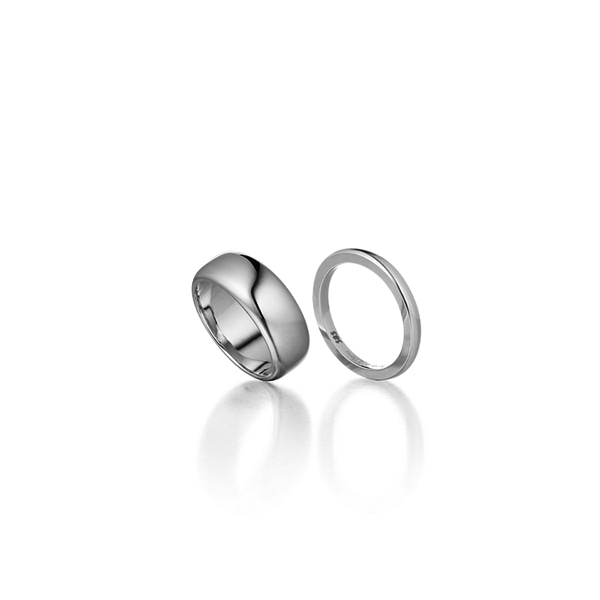double solid ring