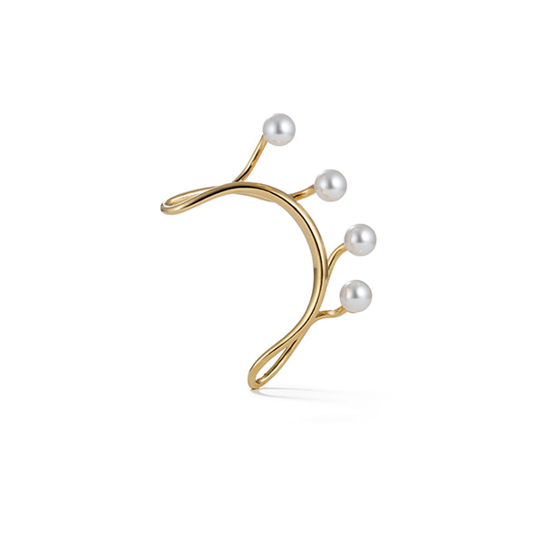 for song earcuff_yellow gold