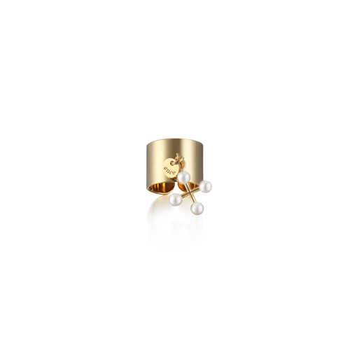 CROSS ring_yellow gold
