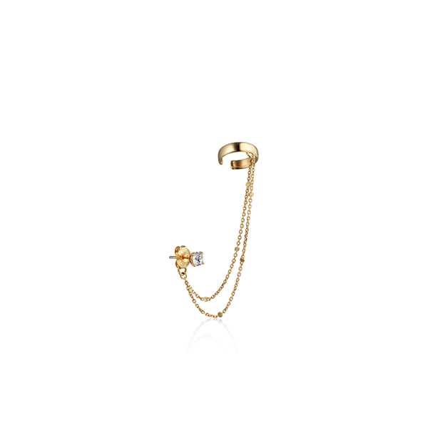 crystal_chain earcuff_ 18k yellow gold