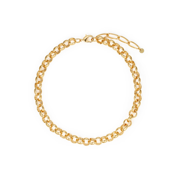chain necklace_02_18k yellow gold