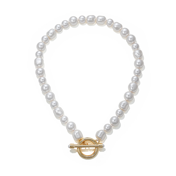 mixed pearl necklace 02_yellow gold
